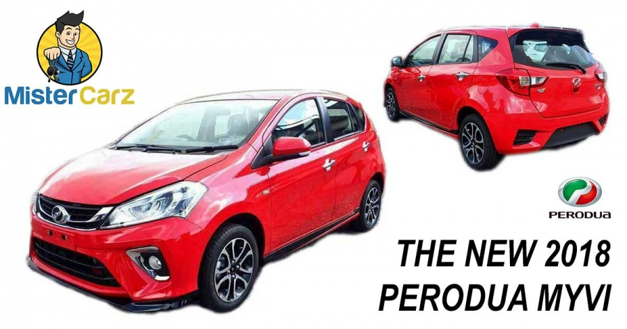 The New Perodua Myvi 2018 photos, promotion and official pricing